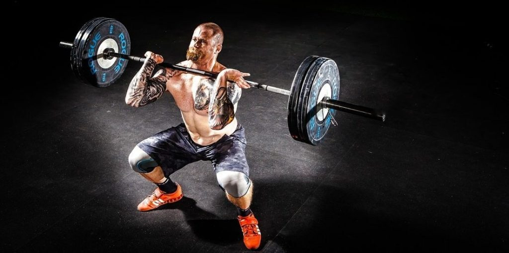 Front Squat with a barbell